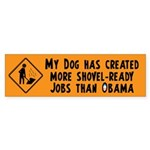 Shovel Ready Jobs Sticker (Bumper 50 pk)