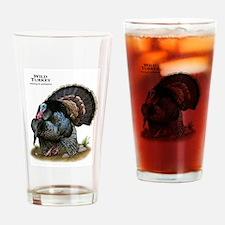 Wild Turkey Drinking Glass