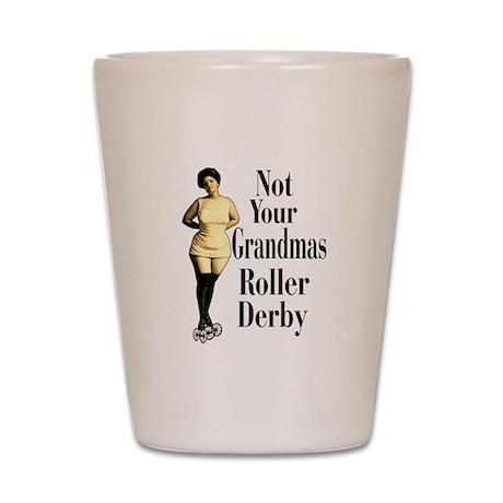 Grandmas Roller Derby Shot Glass