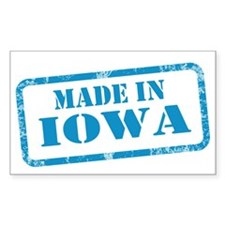 MADE IN IOWA Decal