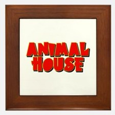 Animal House Framed Tile