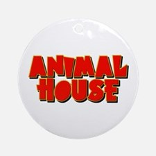 Animal House Ornament (Round)