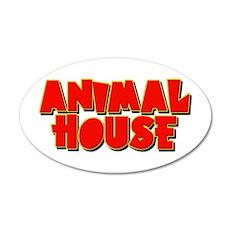 Animal House 22x14 Oval Wall Peel