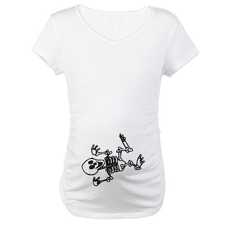Baby Skeleton Maternity T-Shirt