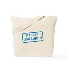 MADE IN CEDAR RAPIDS Tote Bag