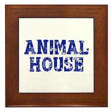 Animal House Framed Tile