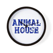 Animal House Wall Clock