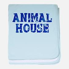 Animal House baby blanket
