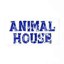 Animal House Aluminum License Plate