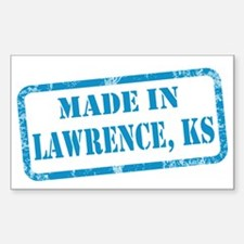 MADE IN LAWRENCE Decal