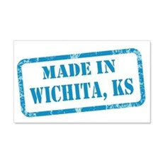 MADE IN WICHITA 22x14 Wall Peel