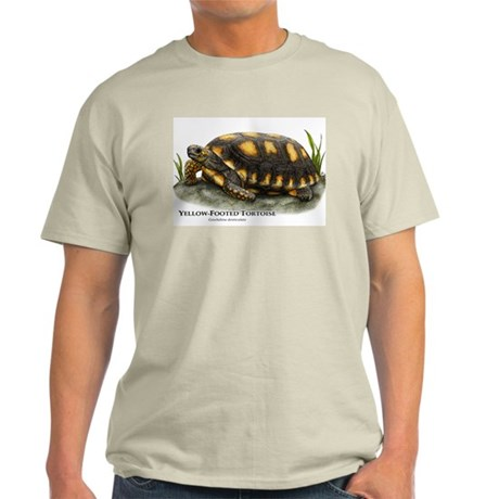 Yellow-Footed Tortoise Light T-Shirt