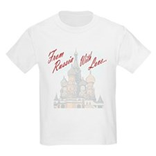 From Russia Kids T-Shirt