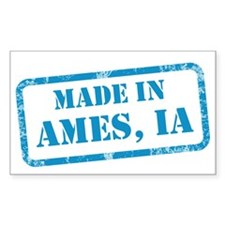 MADE IN AMES Decal
