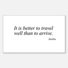 Buddha quote 28 Rectangle Decal
