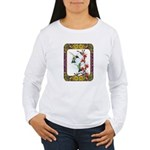 Hummingbirds and Flowers #5 Women's Long Sleeve T-