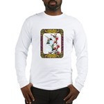Hummingbirds and Flowers #5 Long Sleeve T-Shirt