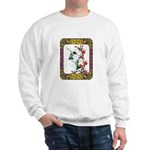 Hummingbirds and Flowers #5 Sweatshirt