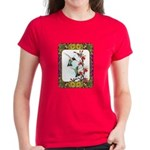Hummingbirds and Flowers #5 Women's Dark T-Shirt