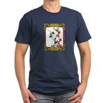 Hummingbirds and Flowers #5 Men's Fitted T-Shirt (