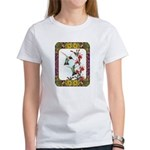 Hummingbirds and Flowers #5 Women's T-Shirt