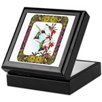 Hummingbirds and Flowers #5 Keepsake Box