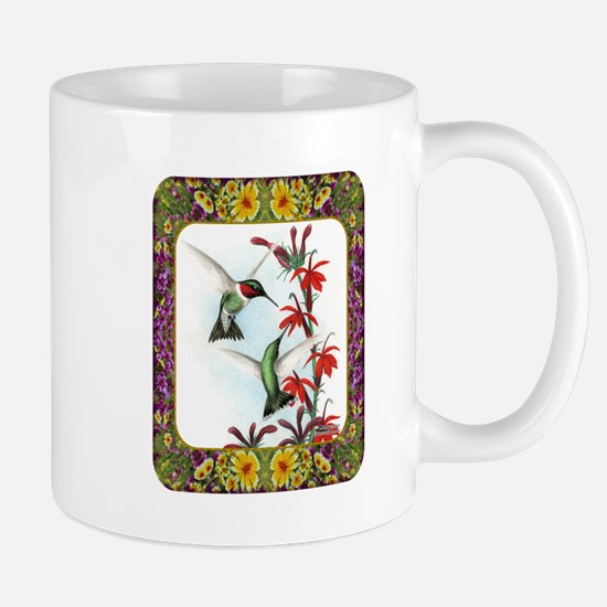 Hummingbirds and Flowers #5 Mug
