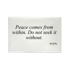 Buddha quote 33 Rectangle Magnet