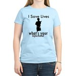 Cool Policeman designs Women's Light T-Shirt