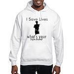 Cool Policeman designs Hooded Sweatshirt