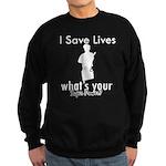 Cool Policeman designs Sweatshirt (dark)