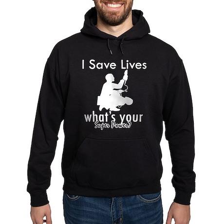 Cool Paramedic designs Hoodie (dark)