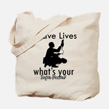 Cool Paramedic designs Tote Bag
