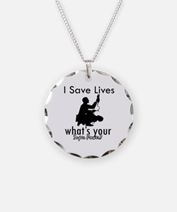 Cool Paramedic designs Necklace