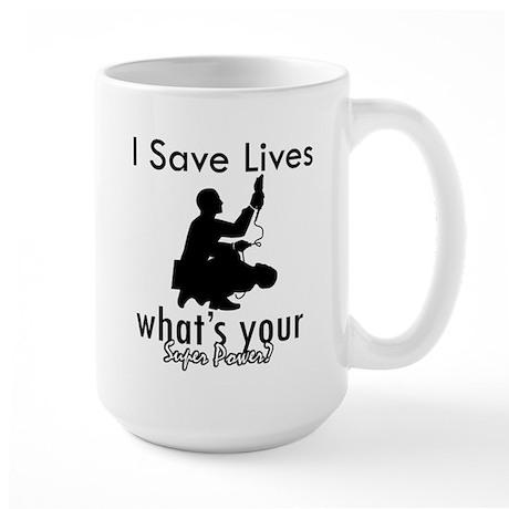 Cool Paramedic designs Large Mug