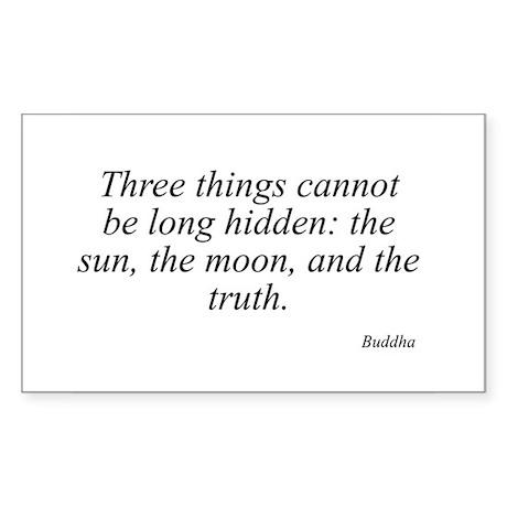 Buddha quote 46 Rectangle Sticker