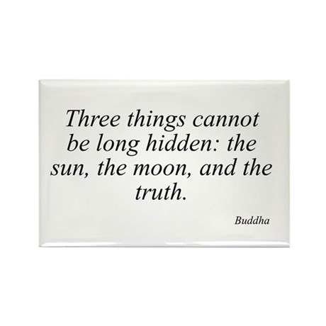 Buddha quote 46 Rectangle Magnet
