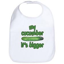 My Cucumber It's Bigger Animal House Bib