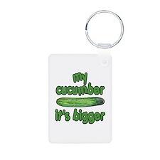 My Cucumber It's Bigger Animal House Keychains