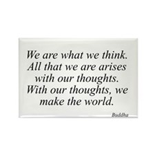 Buddha quote 53 Rectangle Magnet
