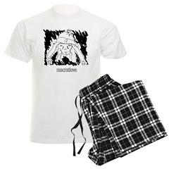 MacRatLove Black and White Pajamas