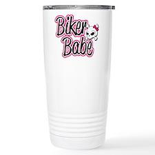 Biker Babe Travel Mug