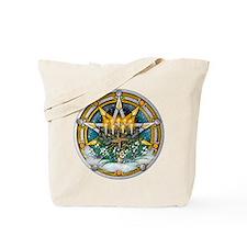 Imbolc Pentacle Tote Bag