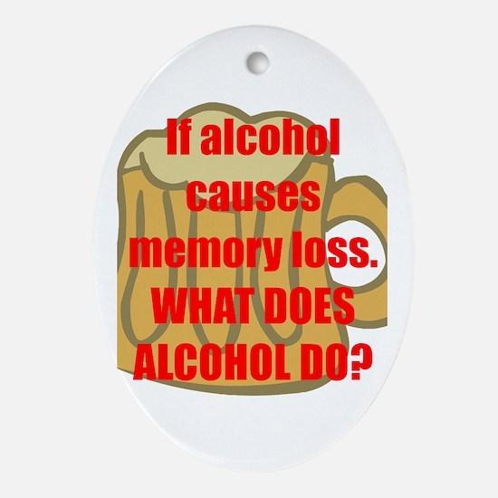 Memory loss Ornament (Oval)