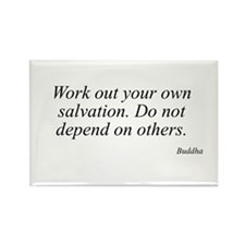 Buddha quote 60 Rectangle Magnet