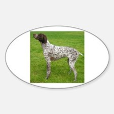 german shorthaired pointer full Decal