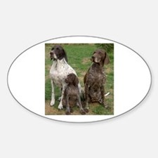 german shorthaired pointer group Decal