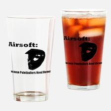 Errghhh Paintball Drinking Glass
