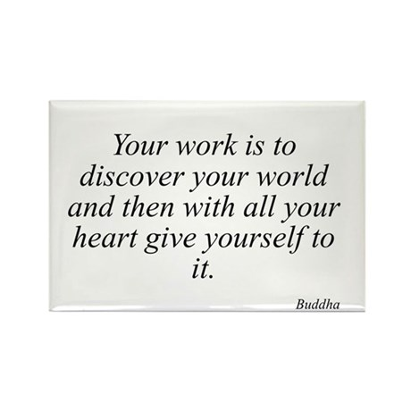 Buddha quote 62 Rectangle Magnet
