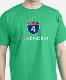 Interstate 4 (I-4) Celebration T-Shirt